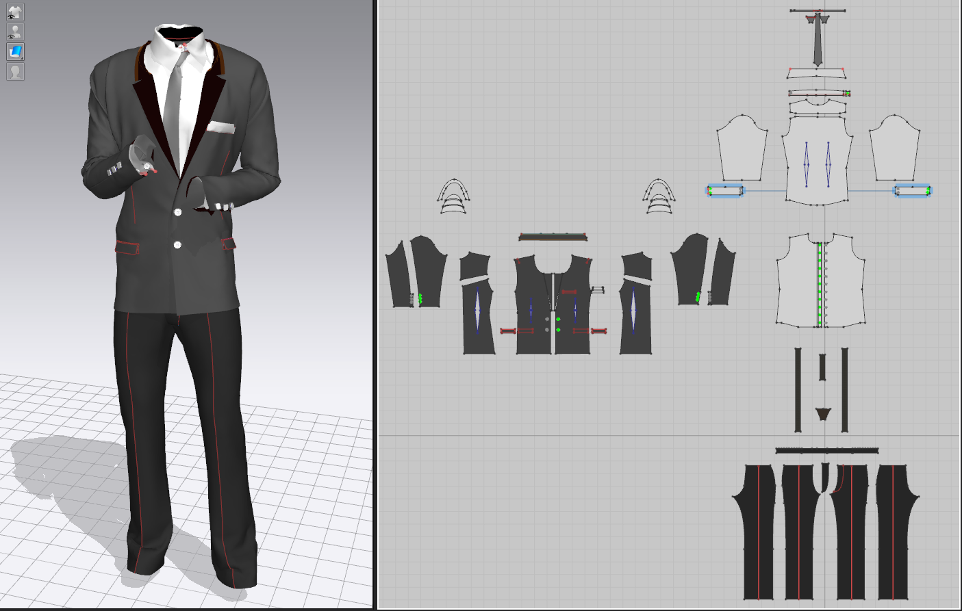 MarvelousDesigner_Suit_Pattern